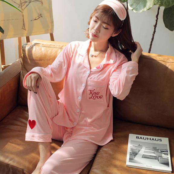 6535双面厚款控价68元孕妇月子服0254-9#睡衣加肥加大